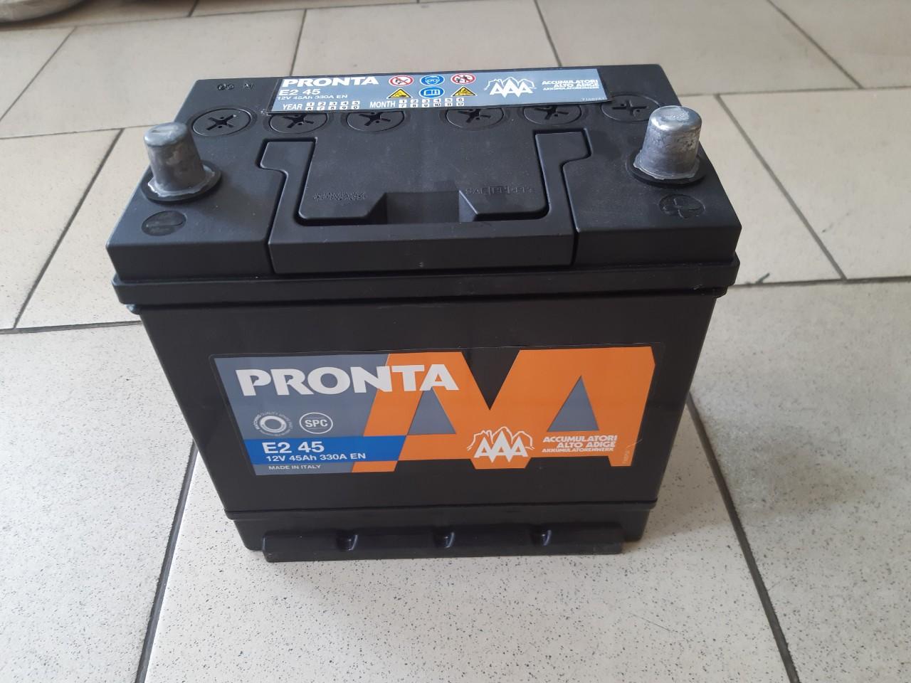 Аккумулятор 12V 45Ah (360 EN) AAA (+   -)  asia photo