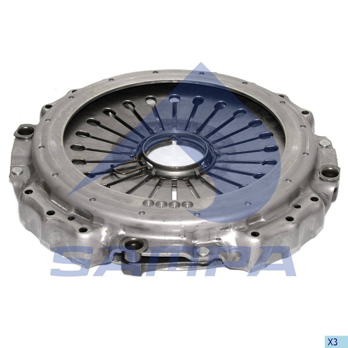 Нажимной диск MB Travego/Setra (O350/O580)  (MZF430) photo