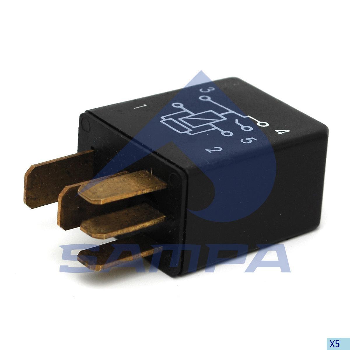 Реле для низких нагрузок 24V 20/10A (Bosch) photo