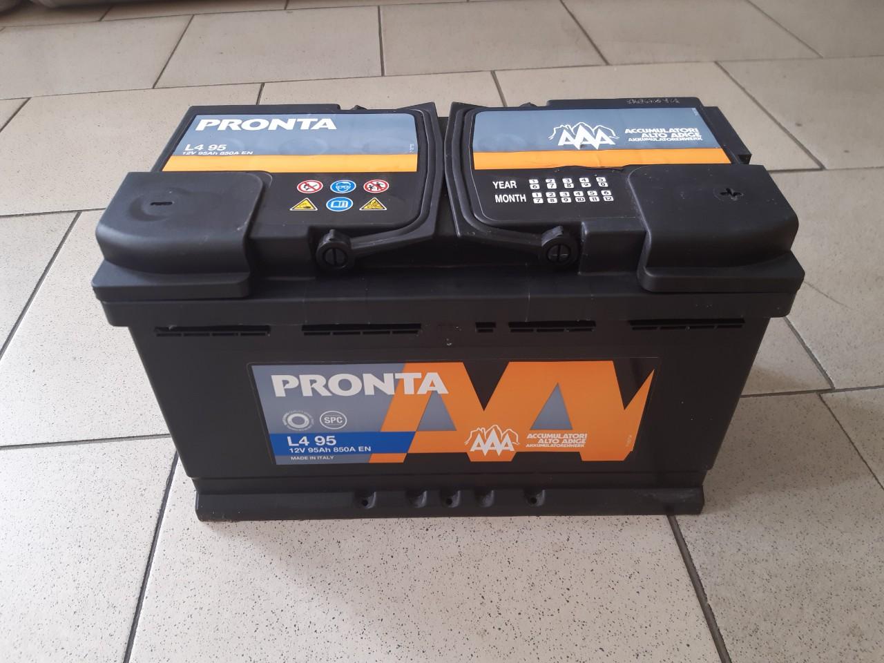 Аккумулятор 12V 95Ah (850 EN) AAA (-   +) photo