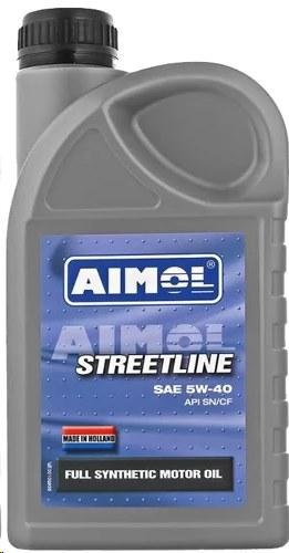 Масло 5W-40 AIMOL Streetline (синтетика) 4L photo